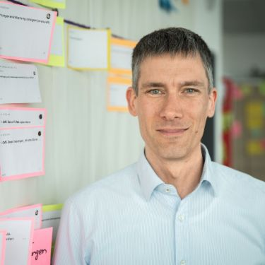 Portrait photograph of Thomas Lieder, Agile Coach at EOS Technology Solutions